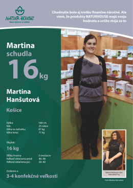 Martina - NATURHOUSE