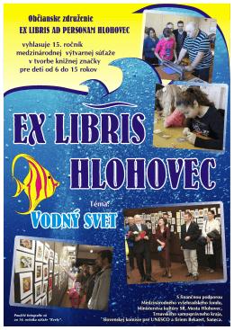 Vyhlásenie súťaže EX LIBRIS HLOHOVEC 2014