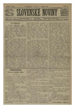 Slovenské noviny 04.01.1914