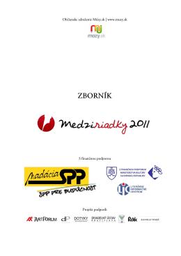 Zborník 2011 (PDF)