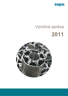 Sapa Profily_Vyrocna sprava_2011_SK_OUT