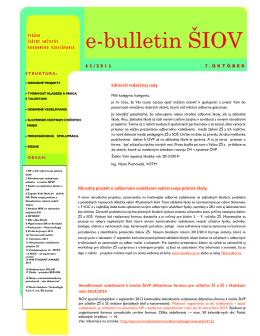 č. 63  - Štátny inštitút odborného vzdelávania