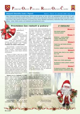 Obecné noviny 5/2009