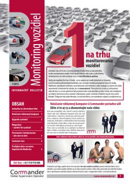 Bulletin I/2012