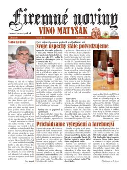 noviny matysak