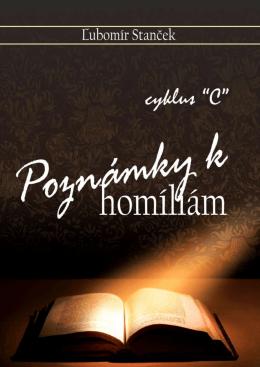 """Poznámky k homíliám - cyklus """"C"""""""