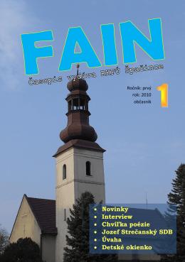 FAIN 1 - Farnosť Špačince