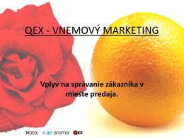 VNEMOVÝ MARKETING