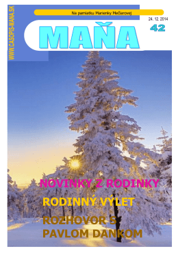 Mana42 - PDF.pub - Rodinný časopis MAŇA