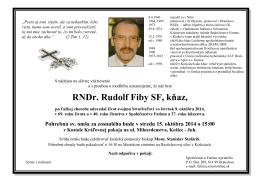 parte 2014 Rudolf Fiby