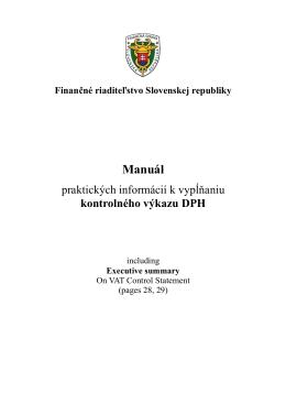 Manuál k vypĺňaniu KV 23.02.2014