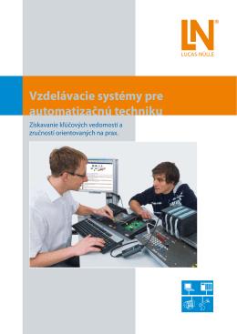 Vzdelávacie systémy pre automatizačnú techniku