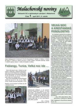 Malachovské noviny