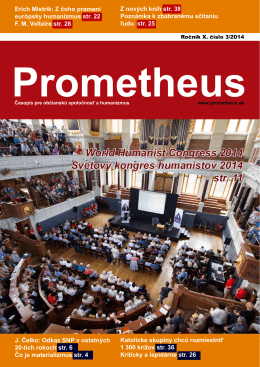 Prometheus 3/2014 Stiahnite si (pdf)