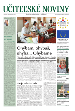Učiteľské noviny číslo 33 /strana 2