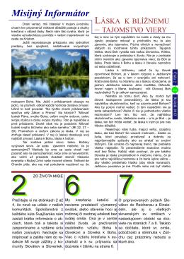 Misijny Informator rocnik 2012 cislo 2