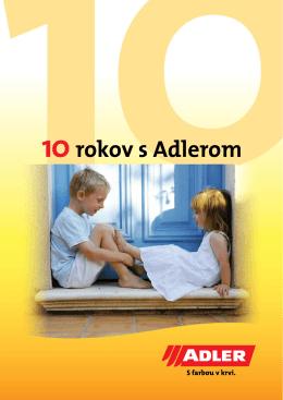 10 rokov s Adlerom