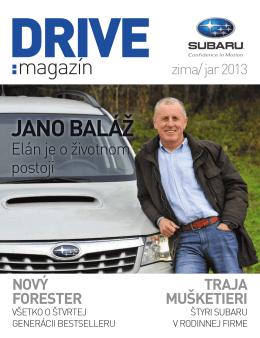 DRIVE MAGAZÍN – zima/jar 2013 vo formáte pdf