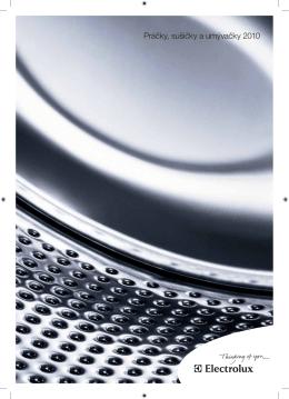 Práčky, sušičky a umývačky 2010