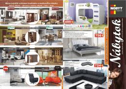 Máme najväčší sortiment kvalitného a značkového nábytku
