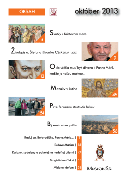 október 2013 - misionar.eu