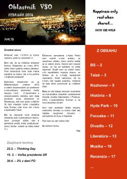Oblastník VSO – 2014 – február - vso.skauting.sk
