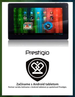 Začíname s Android tabletom