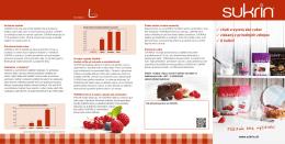 Sukrin Produktfolder SK