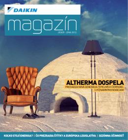 Daikin Magazin - TCH space, sro