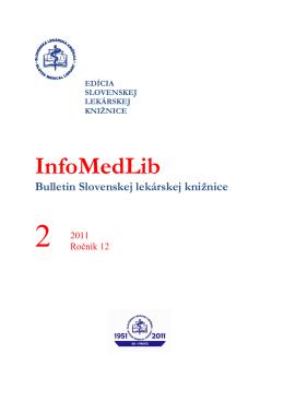 číslo 2/2011 - Slovenská Lekárska Knižnica