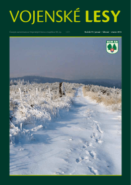 február – marec 2014 - Vojenské lesy a majetky SR, š.p.