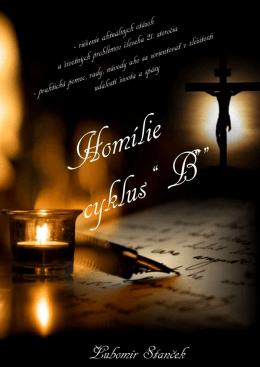 """Homílie """"B"""" r. 2012"""