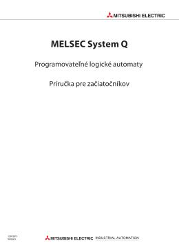 MELSEC System Q Príručka pre začiatočníkov