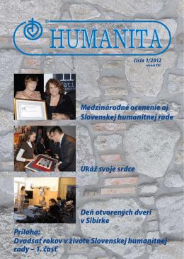 Humanita - Slovenská humanitná rada