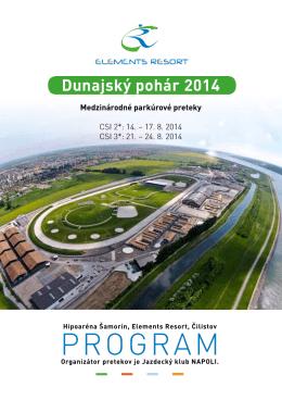 program dunajského pohára 2014