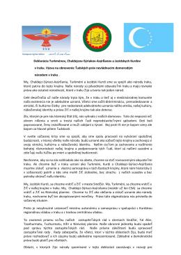 Deklarácia v PDF