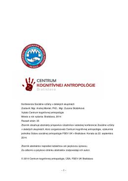 Bez názvu 4 - Centrum kognitívnej antropológie