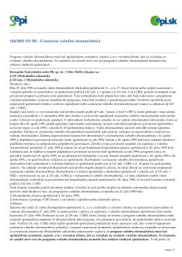 Judikát NS SR č. 2 k prednáške z predmetu VROBP - 4-12