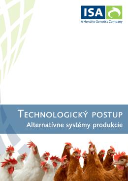 Technologický postup alternatívne systémy