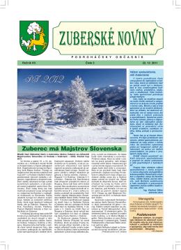 Zuberské noviny 5/2011 Formát PDF