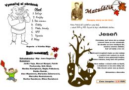 1 - Hlavná stránka ZŠ s MŠ Antona Matulu Sebechleby