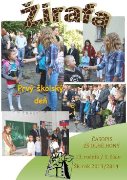 žirafa - Základná škola Dlhé Hony 1, Trenčín
