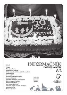 Informačník 2 /PDF