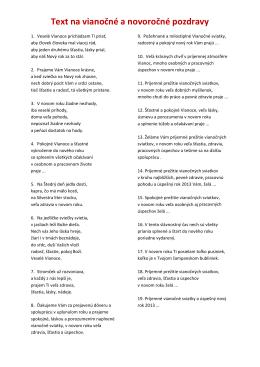 Texty v pdf