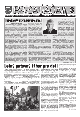 č. 3/2014 - Obec Braväcovo