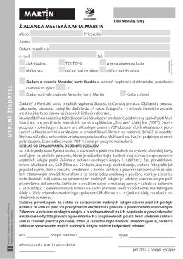 žiadosť stiahnete kliknutím na tento odkaz [PDF]