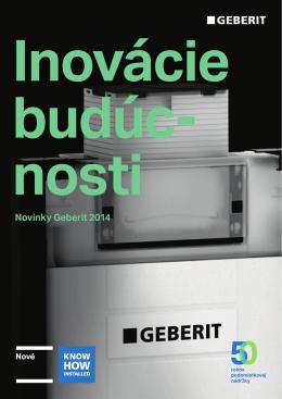 Novinky Geberit 2014