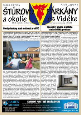2011/08 - Mesto Štúrovo