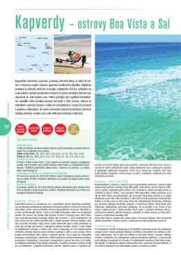 Kapverdy – ostrovy Boa Vista a Sal