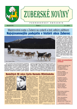 Zuberské noviny 2/2012 Formát PDF